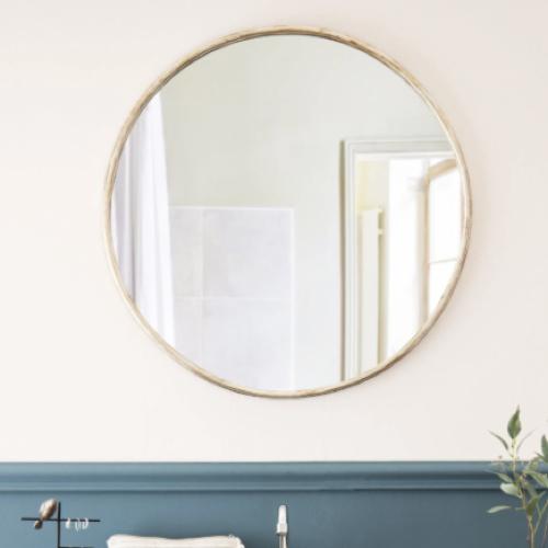 accessoire deco pas cher salle a manger miroir rond doré maisons du monde