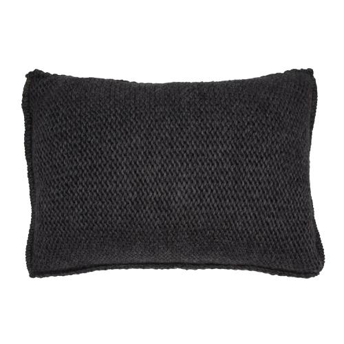 chambre cosy coussin deco neutre laine gris
