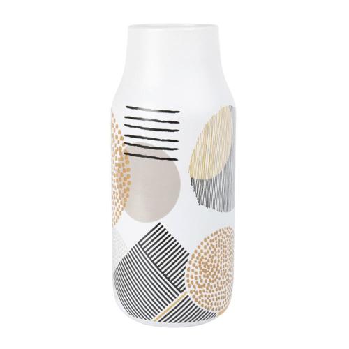 chambre cosy vase simple deco vase imprimé moderne