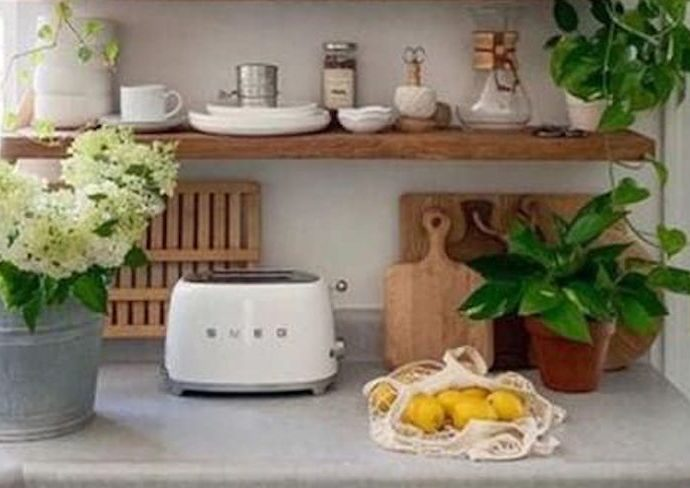 deco naturelle cuisine moderne