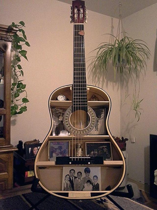 decorer avec guitare exemple récup et detournement