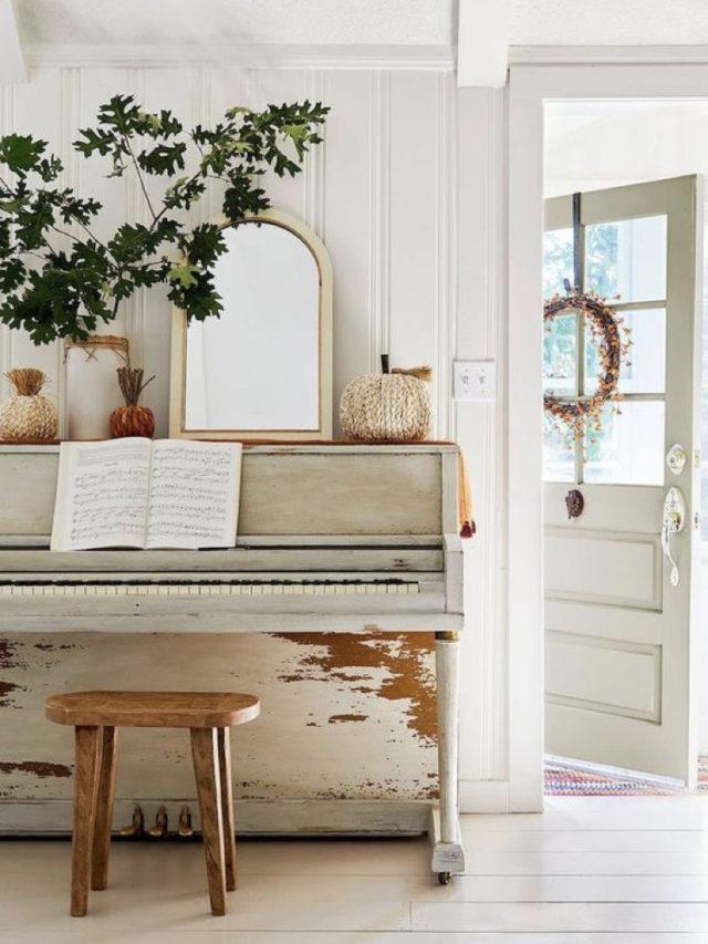 decorer avec piano exemple classique style chic