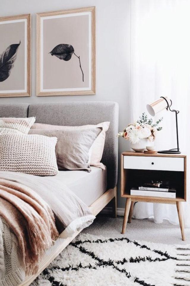 idee a copier deco chambre cosy tapis berbere descente de lit toute douce