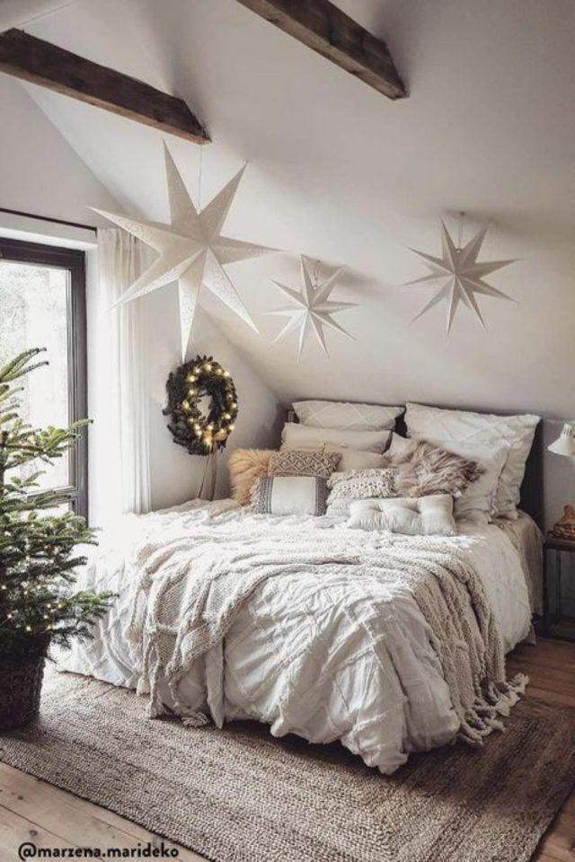 idee a copier deco chambre cosy slow coussins lit tapis naturel
