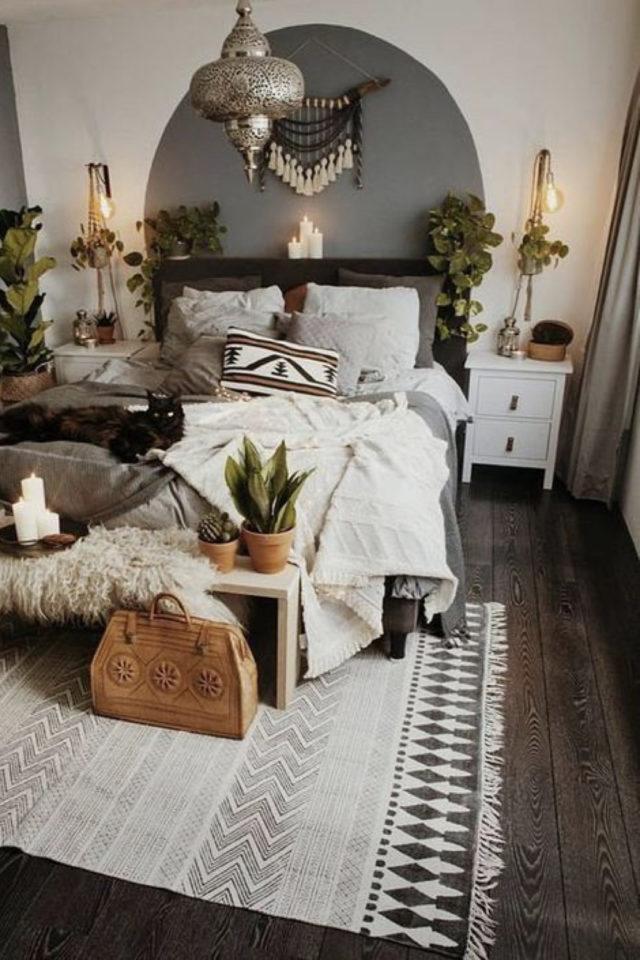 idee a copier deco chambre cosy moderne bohème baladeuse lampe de chevet