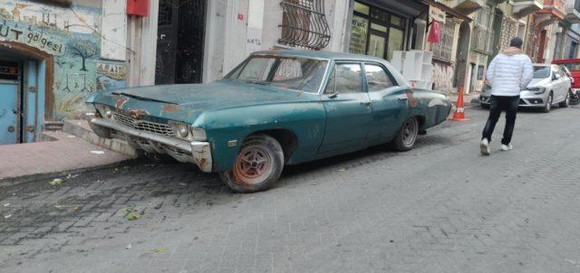 istanbul vieille voiture