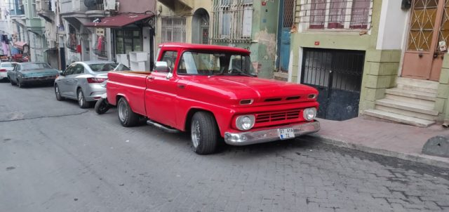 istanbul vieille voiture pickup ancien