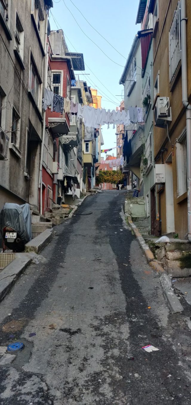journal nomade istanbul decembre quartier