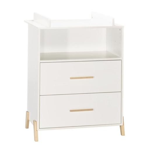 meuble bebe chambre decoration neutre commode table à langer