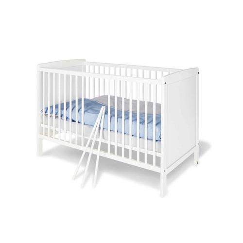 meuble bebe chambre decoration neutre lit à barreaux évolutif