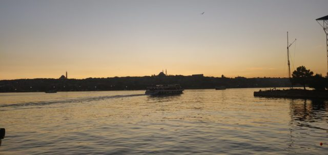 nomade istanbul depart coucher de soleil