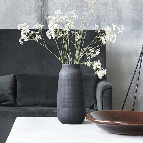 ou trouver vase deco noir mat slow interieur