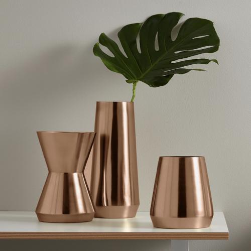 ou trouver vase deco laiton rose moderne