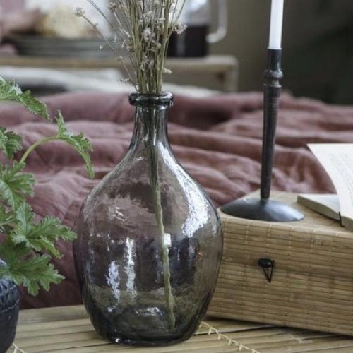 ou trouver vase fleurs sechees dame jeanne petit format