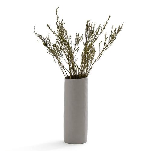 ou trouver vase fleurs sechees tube céramique simple