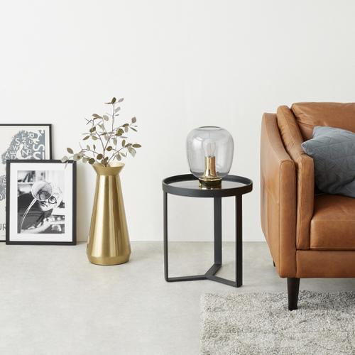 ou trouver vase fleurs sechees jarre laiton doré