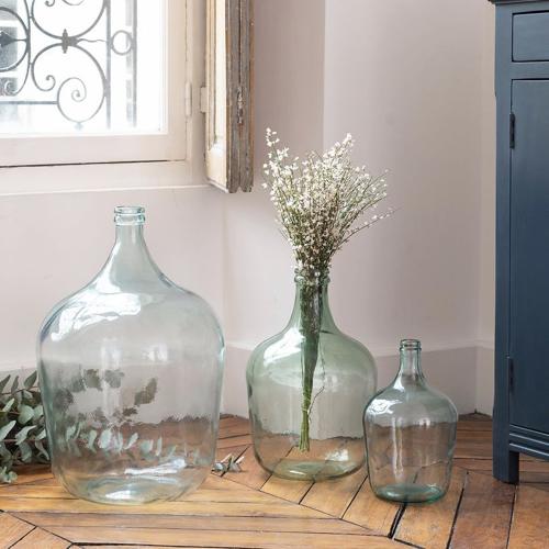 ou trouver vase fleurs sechees dame jeanne en verre pas cher