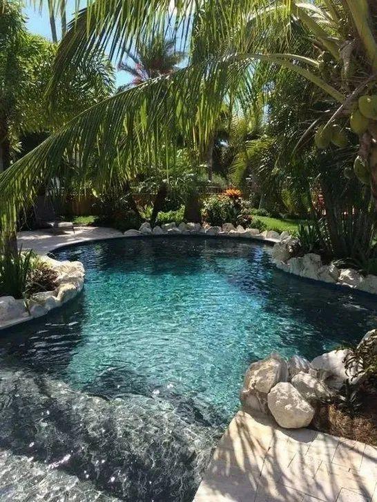 reve deco petite piscine exterieure