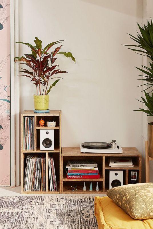 reve deco salon musique meuble platine vinyle