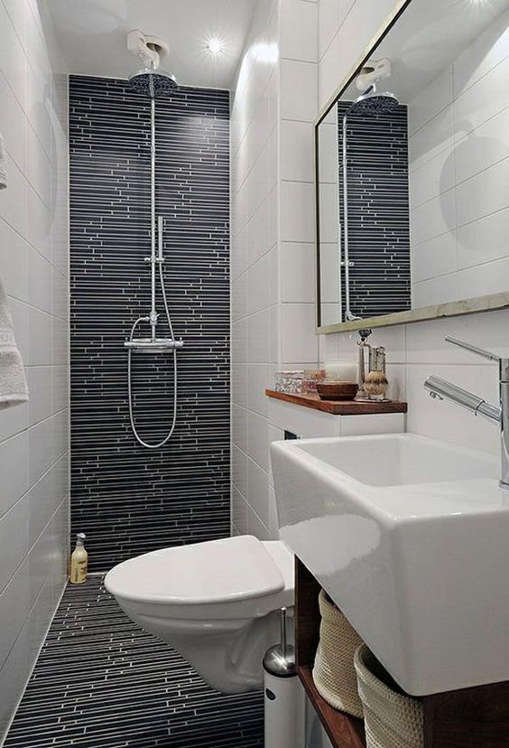 reve deco toute petite salle de bain douche italienne et wc