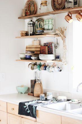 reve decoration cuisine etagere moderne