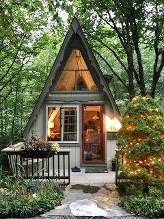 reve maison nature cabane dans les bois