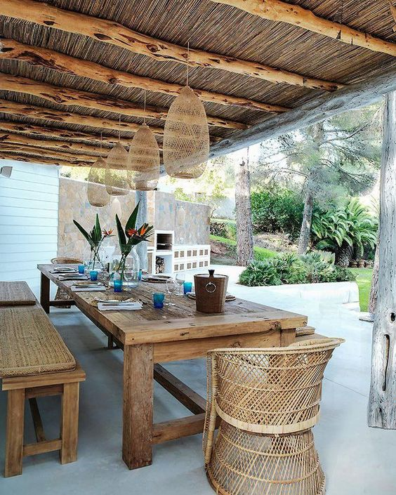 reve sala pergola jardin espace repas extérieur protégé soleil