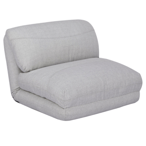 salon cocooning fauteuil XXL chauffeuse moderne gris clair