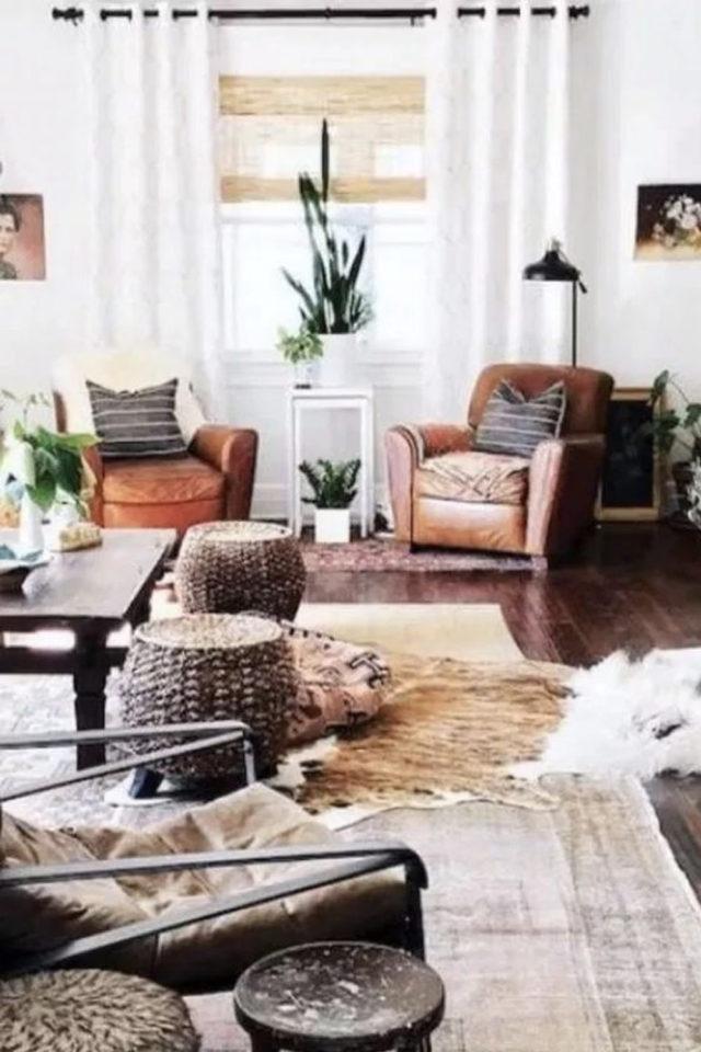 salon cosy nesting exemple mobilier appoint confort agréable pièce à vivre