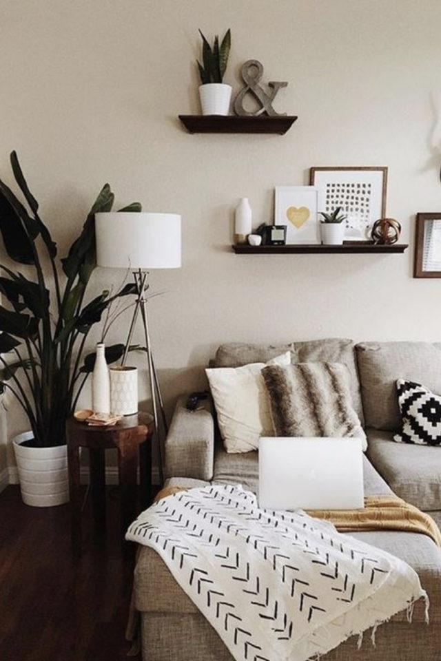salon cosy nesting exemple petit lampadaire scandinave blanc ambiance moderne