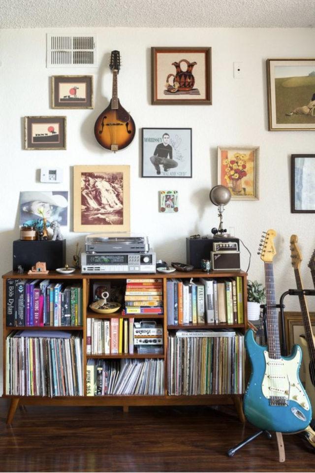 deco rock passion musique vinyle rangement