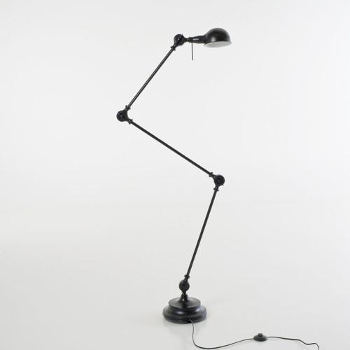 amenager coin lecture salon pas cher lampadaire style industriel orientable
