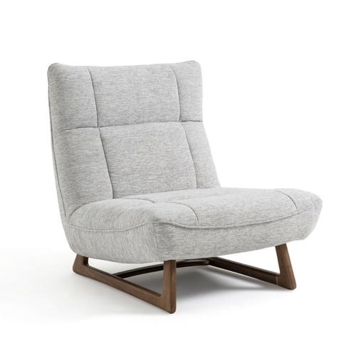 amenager coin lecture salon pas cher fauteuil design rétro greige