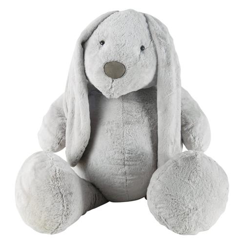 chambre enfant decoration animaux peluche lapin gris déco forêt nature