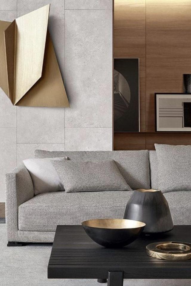 deco gris clair exemple ambiance design et élégante canapé gris clair