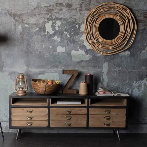 deco mobilier petit prix soldes 2021 decocolico meuble télé style industriel