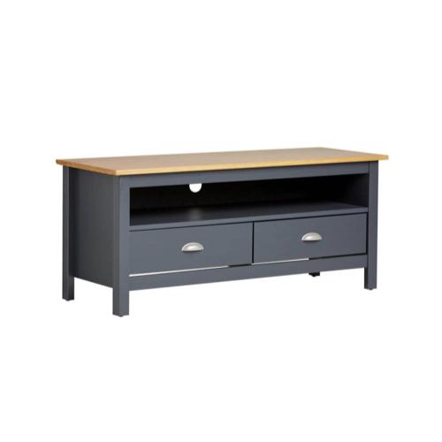meuble gris pas cher pour salon style classique