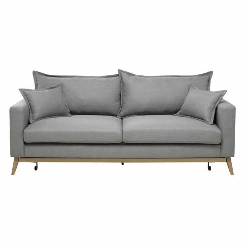 meuble gris pas cher pour salon canapé simple moderne