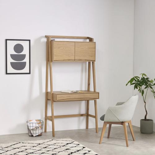 meuble moderne petit prix made soldes 2021 bureau mural en bois clair