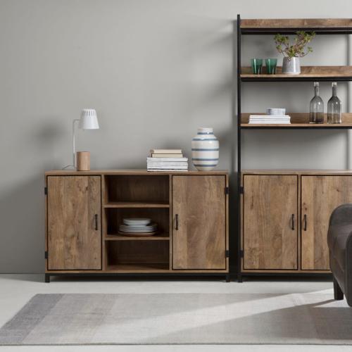 meuble moderne petit prix made soldes 2021  meuble porte et étagère séjour