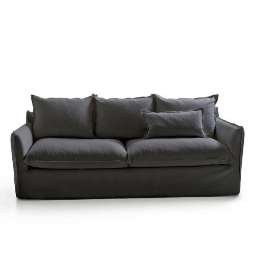 mobilier gris pas cher pour salon canapé pour famille