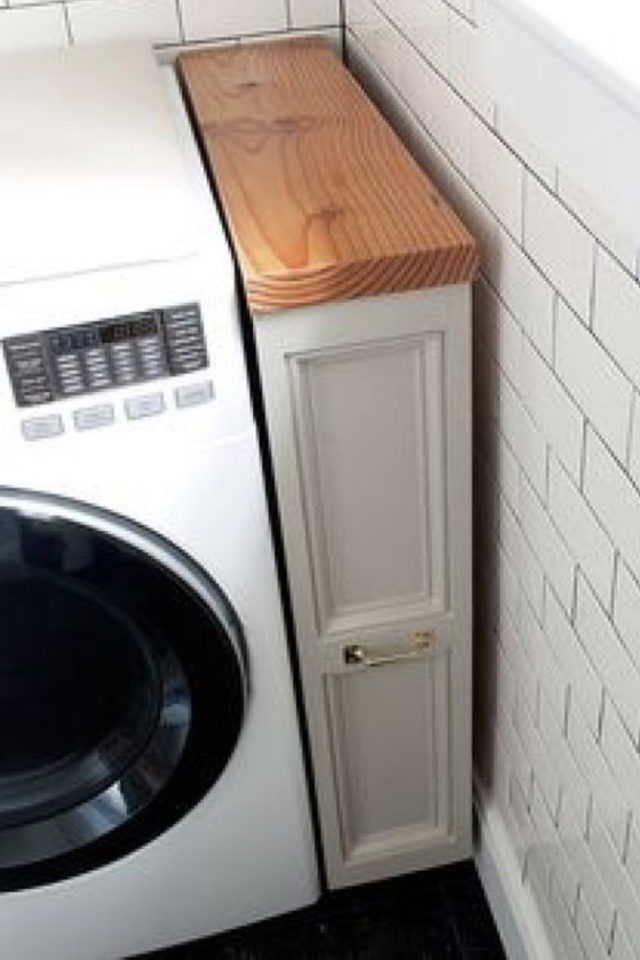 où gagner place chez soi cuisine petit meuble entre mur et électroménager
