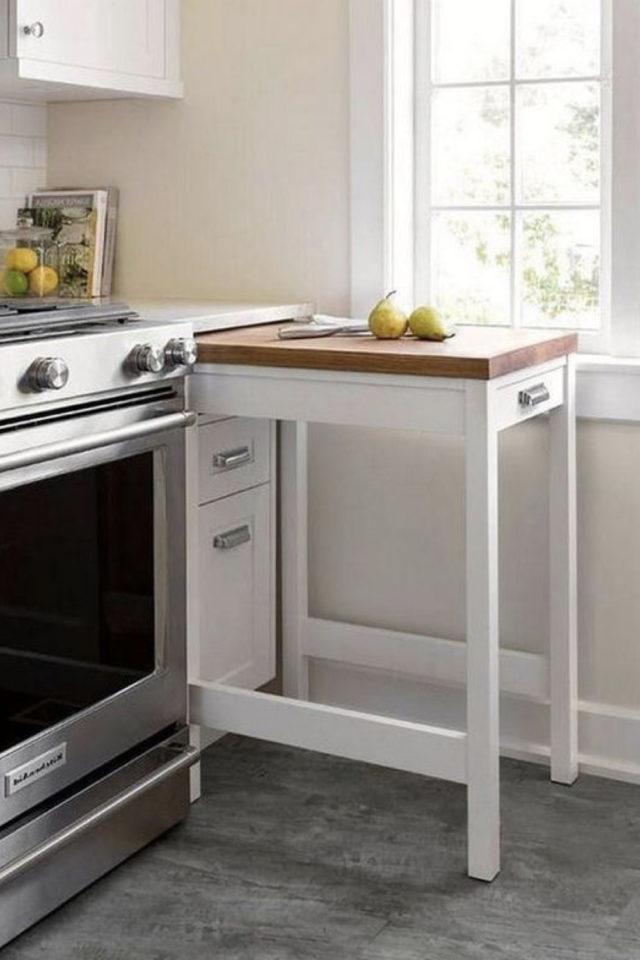 où gagner place chez soi meuble malin cuisine gain de place