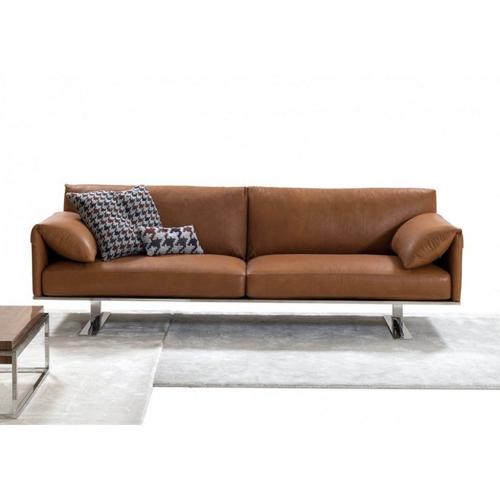 ou trouver canape cuir confortable simple discret moderne épuré