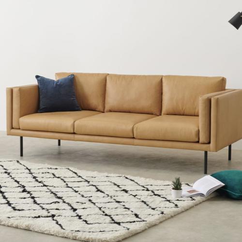 ou trouver canape cuir moderne fixe et simple 3 à 4 places