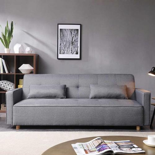ou trouver canape lit pas cher convertible gris traditionnel solide