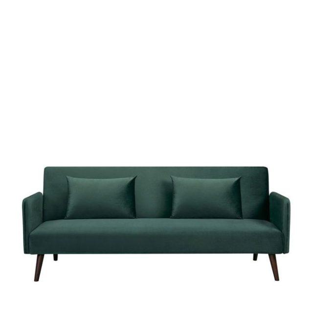 ou trouver canape lit velours vert pas cher