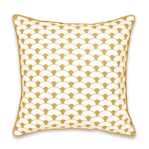 ou trouver housse coussin couleur pantone 2021 jaune motif moderne