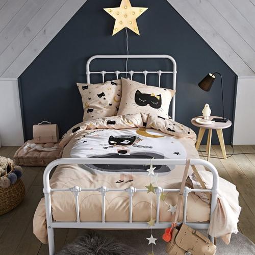 ou trouver lit enfant metal couleur claire pas cher