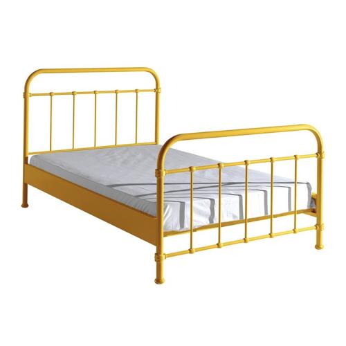 ou trouver lit enfant metal couleur jaune